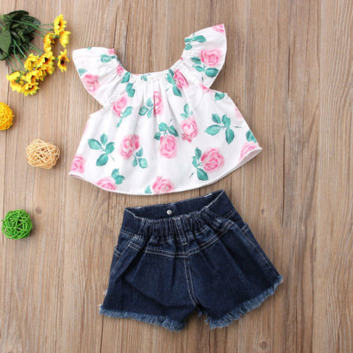 2PCS-Toddler-Kids-Baby-Girls-clothes-Flower-short-sleeve-Clothes-Outfit-T-shirt-Tops-hole-Denim-4.jpg