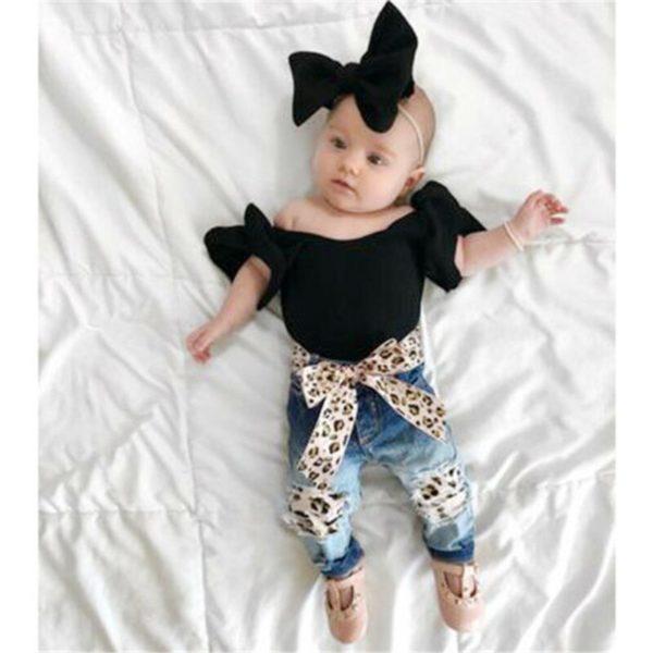 Baby-Girl-3PCS-Summer-Sunsuit-Black-Crop-Tops-T-Shirt-Bandage-Leopard-Hole-Demin-Pants-Headband-1.jpg