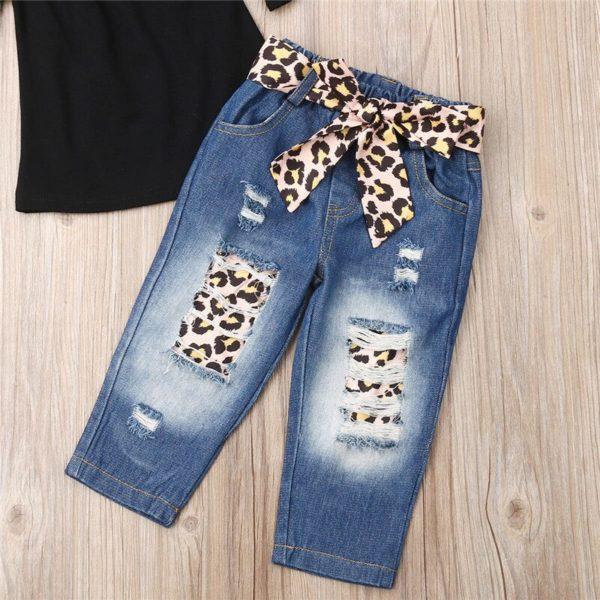 Baby-Girl-3PCS-Summer-Sunsuit-Black-Crop-Tops-T-Shirt-Bandage-Leopard-Hole-Demin-Pants-Headband-4.jpg