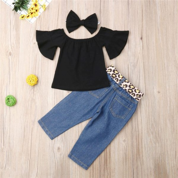 Baby-Girl-3PCS-Summer-Sunsuit-Black-Crop-Tops-T-Shirt-Bandage-Leopard-Hole-Demin-Pants-Headband-5.jpg