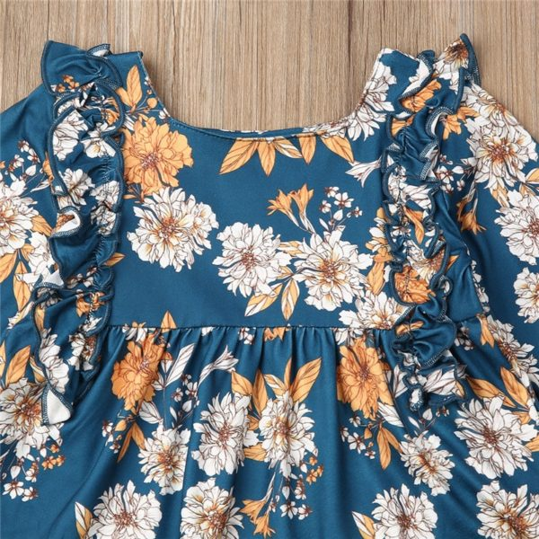 CANIS-children-s-sets-2Pcs-Kid-Baby-clothing-Girls-Clothes-Floral-printed-ruffles-Dresses-long-solid-3.jpg